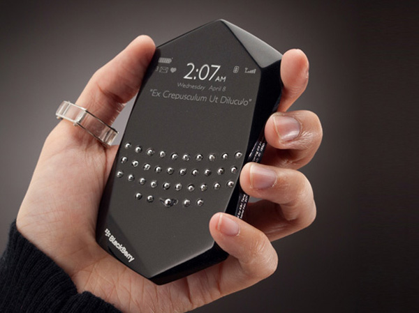 Новый телефон BlackBerry Empathy